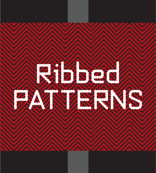 Ribbed Patterns font